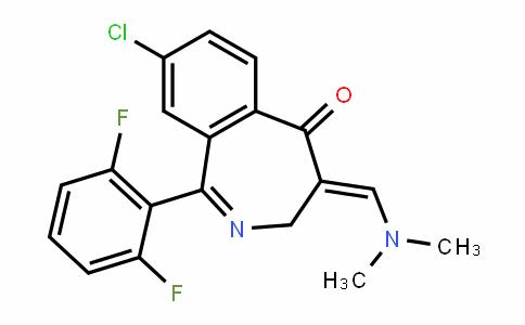 (E)-8-chloro-1-(2,6-Difluorophenyl)-4-((Dimethylamino)methylene)-3H-benzo[c]azepin-5(4H)-one