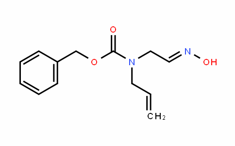 (E)-benzyl allyl(2-(hyDroxyimino)ethyl)carbamate
