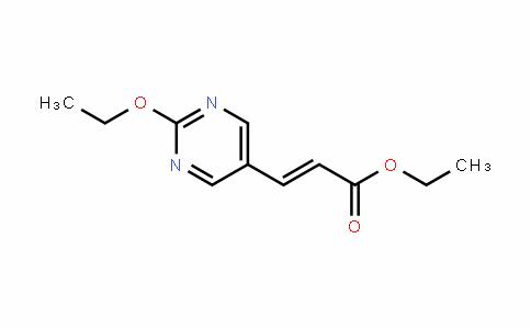 (E)-ethyl 3-(2-ethoxypyrimiDin-5-yl)acrylate