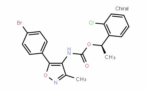 (R)-1-(2-chlorophenyl)ethyl (5-(4-bromophenyl)-3-methylisoxazol-4-yl)carbamate