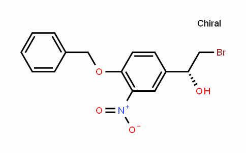 (R)-1-(4-Benzyloxy-3-nitrophenyl)-2-bromoethanol