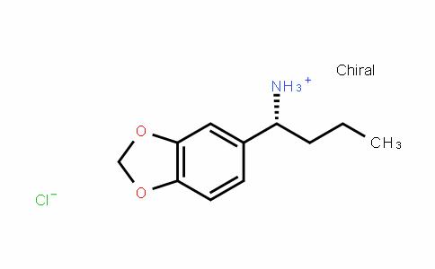 (R)-1-(benzo[D][1,3]Dioxol-5-yl)butan-1-aminium chloriDe