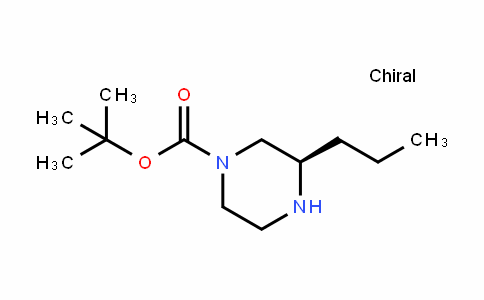 (R)-1-Boc-3-propyl-piperazine