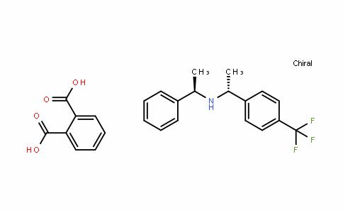 (R)-1-phenyl-N-((R)-1-(4-(trifluoromethyl)phenyl)ethyl)ethanamine phthalate