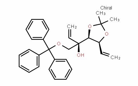 (R)-2-((4S,5S)-2,2-Dimethyl-5-vinyl-1,3-Dioxolan-4-yl)-1-(trityloxy)but-3-en-2-ol