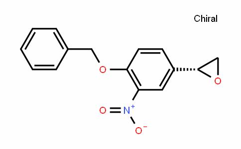 (R)-2-(4-(benzyloxy)-3-nitrophenyl)oxirane