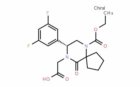 (R)-2-(8-(3,5-Difluorophenyl)-6-(ethoxycarbonyl)-10-oxo-6,9-Diazaspiro[4.5]Decan-9-yl)acetic acid