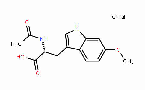 (R)-2-acetamiDo-3-(6-methoxy-1H-inDol-3-yl)propanoic acid