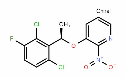 (R)-3-(1-(2,6-Dichloro-3-fluorophenyl)ethoxy)-2-nitropyriDine