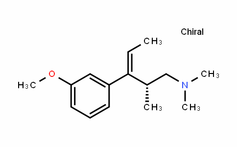 (R)-3-(3-methoxyphenyl)-N,N,2-trimethylpent-3-en-1-amine