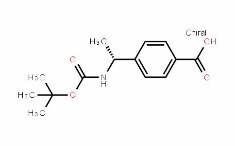 (R)-4-(1-((Tert-butoxycarbonyl)amino)ethyl)benzoic acid