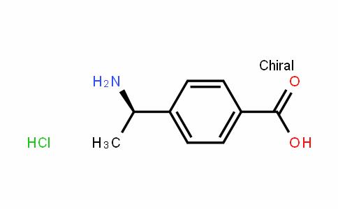 (R)-4-(1-氨基乙基)苯甲酸盐酸盐