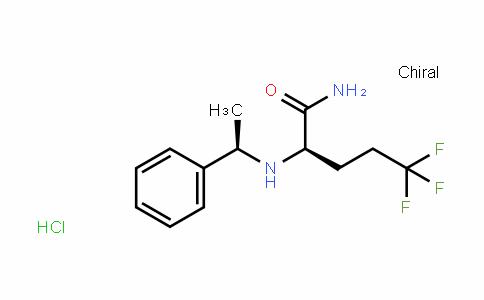 (R)-5,5,5-trifluoro-2-(((R)-1-phenylethyl)amino)pentanamiDe hyDrochloriDe
