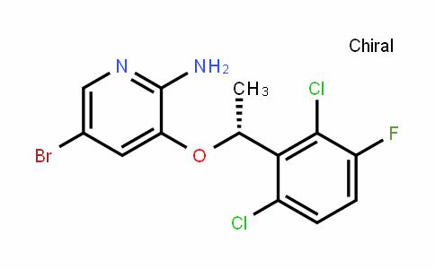 [5-溴-3-[(1R)-(2,6-二氯-3-氟苯基)乙氧基]吡啶-2-基]胺