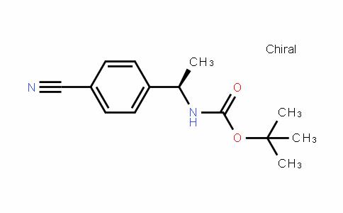 (R)-Tert-butyl (1-(4-cyanophenyl)ethyl)carbamate