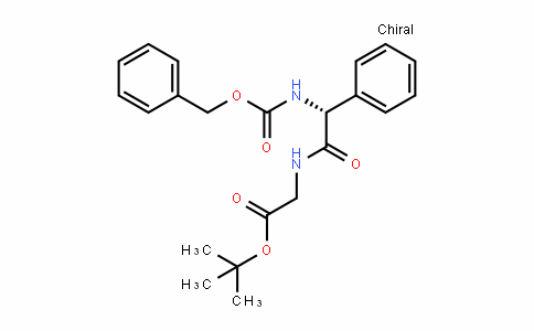 (R)-Tert-butyl 2-(2-(benzyloxycarbonylamino)-2-phenylacetamiDo)acetate