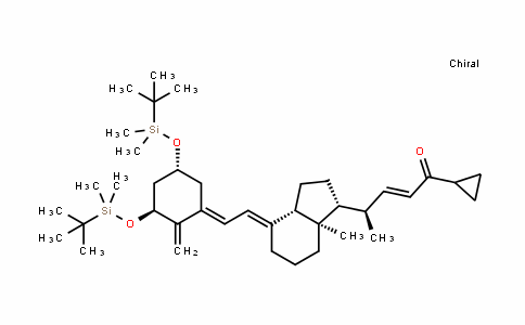 (R,E)-4-((1R,3aS,7aR,E)-4-((E)-2-((3S,5R)-3,5-bis(Tert-butylDimethylsilyloxy)-2-methylenecyclohexyliDene)ethyliDene)-7a-methyloctahyDro-1H-inDen-1-yl)-1-cyclopropylpent-2-en-1-one