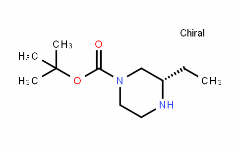(S)-1-Boc- 3-ethyl-piperazine
