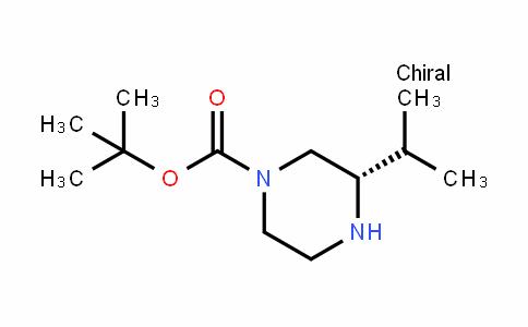 (S)-1-BOC-3-异丙基哌嗪