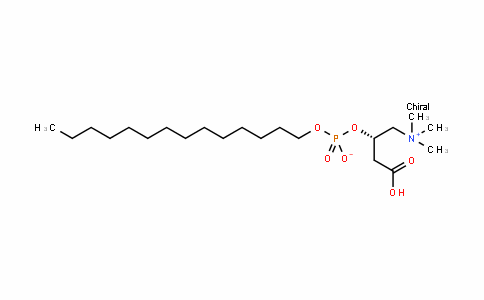 (S)-1-carboxy-3-(trimethylammonio)propan-2-yl tetraDecyl phosphate