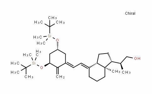 (1Α,3Β,5E,7E)-20-羟甲基-9,10-开环胆甾-1,3,-双叔丁基二甲基硅氧基-5,7,10(19)-三烯