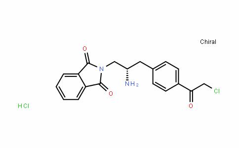 (S)-2-(2-amino-3-(4-(2-chloroacetyl)phenyl)propyl)isoinDoline-1,3-Dione (HyDrochloriDe)