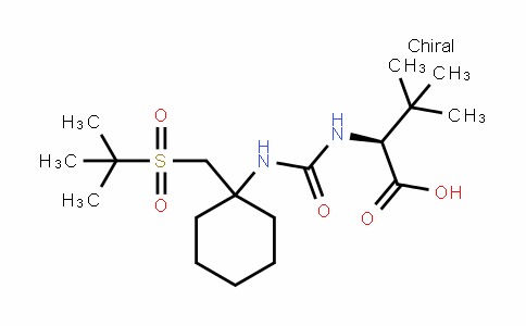 (S)-2-(3-(1-(Tert-butylsulfonylmethyl)cyclohexyl)ureiDo)-3,3-Dimethylbutanoic acid