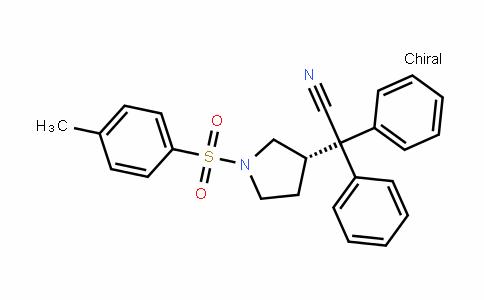 (S)-1-对甲苯磺酰基-3-(1-氰基-1,1-二苯甲基)吡咯烷