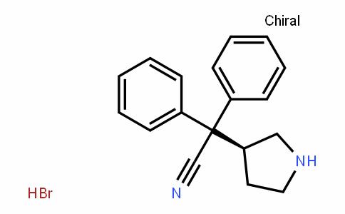 (S)-2,2-Diphenyl-2-(pyrroliDin-3-yl)acetonitrile (hyDrobromiDe)