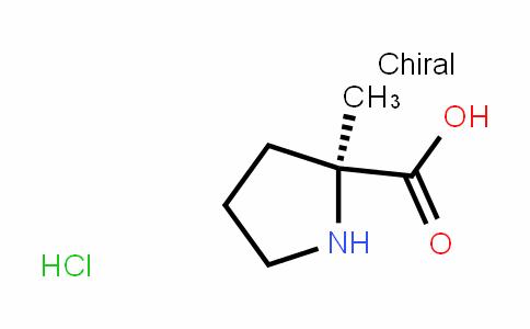 (S)-2-methylpyrroliDine-2-carboxylic acid (HyDrochloriDe)