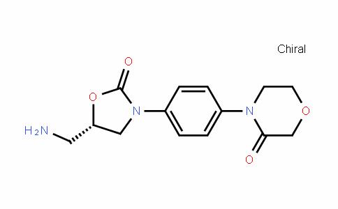 (S)-4-(4-(5-(氨基甲基)-2-氧代恶唑烷-3-基)苯基)吗啉-3-酮