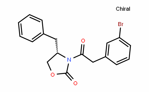 (S)-4-benzyl-3-(2-(3-bromophenyl)acetyl)oxazoliDin-2-one