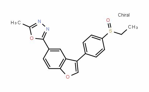 (S)-5-methyl-2-[3-[4-(Ethylsulfinyl)phenyl]benzofuran-5-yl]-1,3,4-oxaDiazole