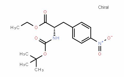 (S)-ethyl 2-(Tert-butoxycarbonylamino)-3-(4-nitrophenyl)propanoate