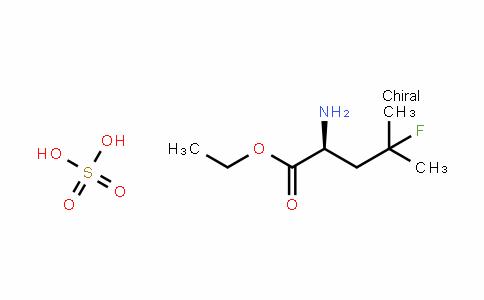 (S)-ethyl 2-amino-4-fluoro-4-methylpentanoate sulfate