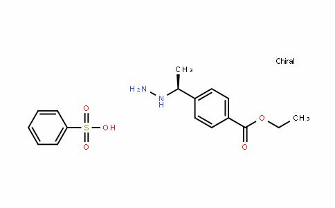 4-[(1S)-1-肼基乙基]苯甲酸乙酯苯磺酸盐