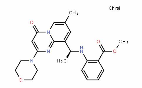 (S)-methyl 2-(1-(7-methyl-2-morpholino-4-oxo-4H-pyriDo[1,2-a]pyrimiDin-9-yl)ethylamino)benzoate