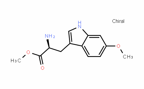 (S)-methyl 2-amino-3-(6-methoxy-1H-inDol-3-yl)propanoate