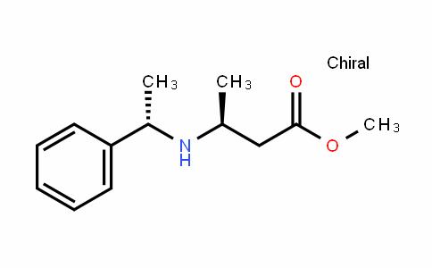 (S)-methyl 3-((S)-1-phenylethylamino)butanoate