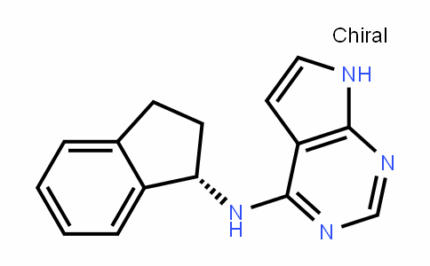 (S)-N-(2,3-DihyDro-1H-inDen-1-yl)-7H-pyrrolo[2,3-D]pyrimiDin-4-amine