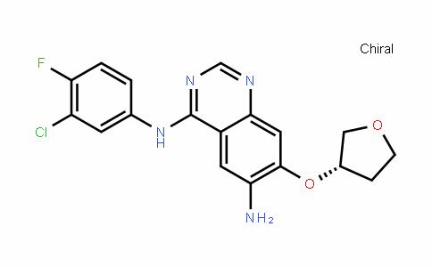 N4-(3-氯-4-氟苯基)-7-[[(3S)-四氢-3-呋喃基]氧基]-4,6-喹唑啉二胺