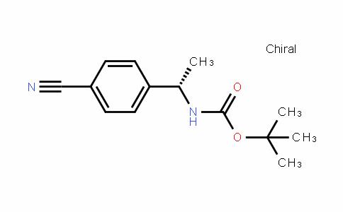 (S)-Tert-butyl 1-(4-cyanophenyl)ethylcarbamate