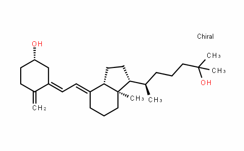 (S,E)-3-((E)-2-((1R,3aS,7aR)-1-((R)-6-hyDroxy-6-methylheptan-2-yl)-7a-methylhexahyDro-1H-inDen-4(2H)-yliDene)ethyliDene)-4-methylenecyclohexanol