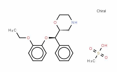 (S,S)-reboxetine (mesylate)