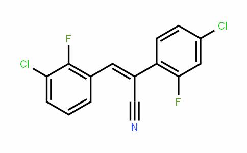 (Z)-3-(3-Chloro-2-fluorophenyl)-2-(4-chloro-2-fluorophenyl)-2-propenenitrile