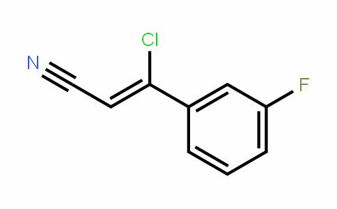 (Z)-3-chloro-3-(3-fluorophenyl)acrylonitrile