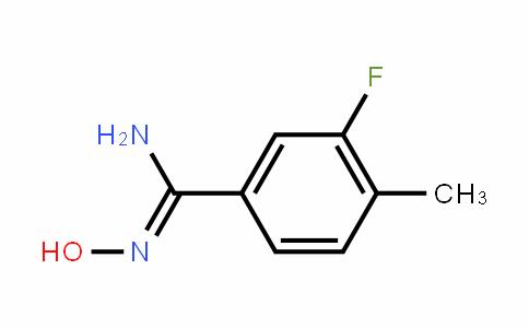 (Z)-3-fluoro-N'-hyDroxy-4-methylbenzimiDamiDe