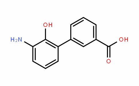 [1,1'-Biphenyl]-3-carboxylic acid, 3'-amino-2'-hyDroxy-