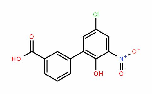 [1,1'-Biphenyl]-3-carboxylic acid, 5'-chloro-2'-hyDroxy-3'-nitro-