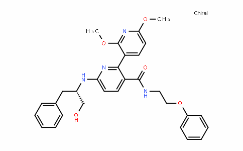 [2,3'-BipyriDine]-3-carboxamiDe, 6-[[(1S)-1-(hyDroxymethyl)-2-phenylethyl]amino]-2',6'-Dimethoxy-N-(2-phenoxyethyl)-